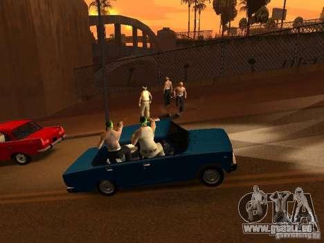 Vagosy-Grove für GTA San Andreas dritten Screenshot
