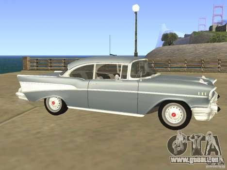 Chevrolet Bel Air 1957 für GTA San Andreas linke Ansicht