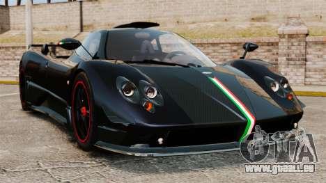 Pagani Zonda Cinque 2009 pour GTA 4