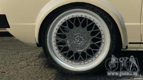 Volkswagen Golf Mk1 Stance für GTA 4 Unteransicht
