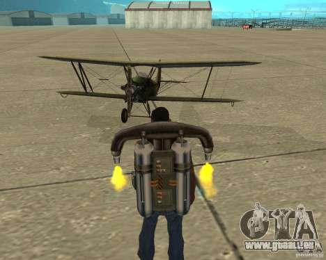 An-2 für GTA San Andreas Innenansicht