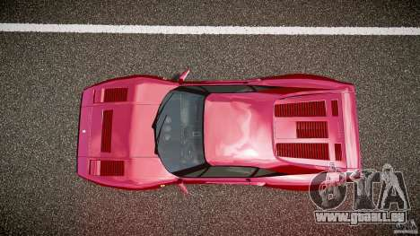 Ferrari 288 GTO pour GTA 4 vue de dessus