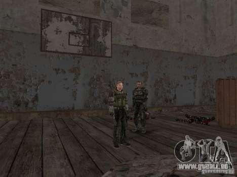 Degtyarev de Stalker pour GTA San Andreas neuvième écran