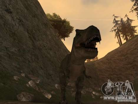 Dinosaurs Attack mod pour GTA San Andreas