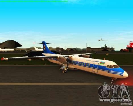 ATR 72-500 Azerbaijan Airlines für GTA San Andreas linke Ansicht