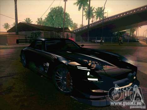 Mercedes-Benz SLS AMG GT-R pour GTA San Andreas vue intérieure