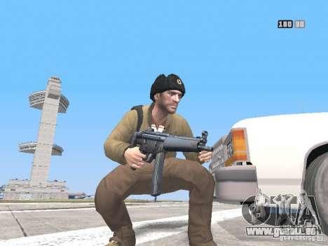 HQ Weapons pack V2.0 für GTA San Andreas zehnten Screenshot