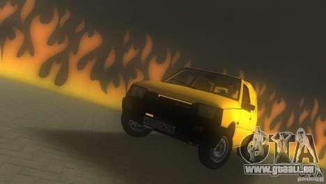 SeAZ Pickup pour une vue GTA Vice City de la droite