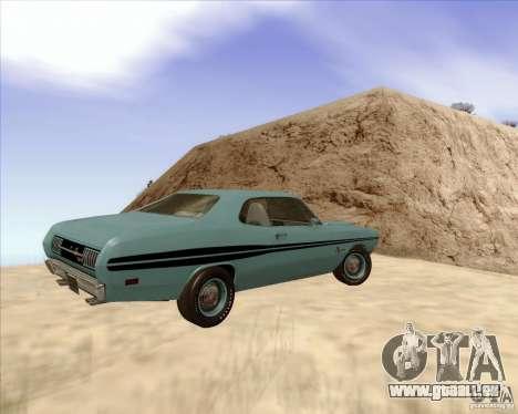 Dodge Demon 1971 pour GTA San Andreas laissé vue