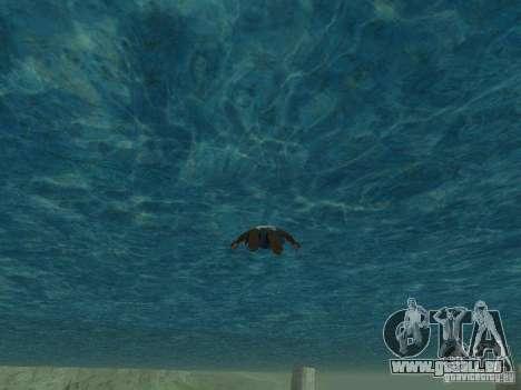 Eau de texture pour GTA San Andreas deuxième écran