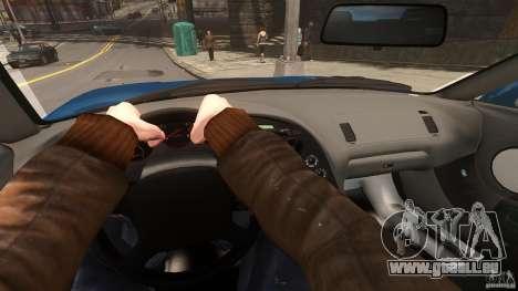 Toyota Supra für GTA 4 Innenansicht
