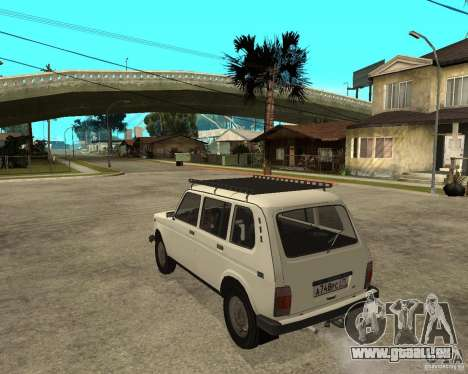 WAZ 2131 Niva für GTA San Andreas linke Ansicht