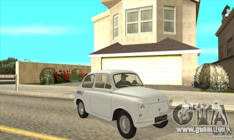 ZAZ-965 pour GTA San Andreas vue arrière