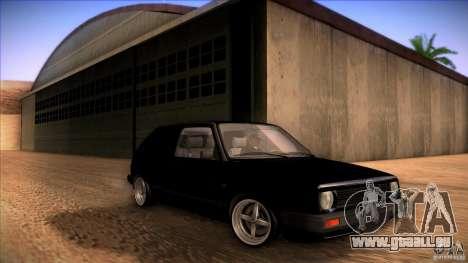 Volkswagen Golf MK II pour GTA San Andreas