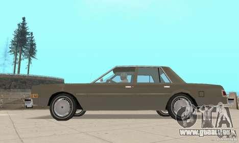 Dodge Diplomat 1985 v2.0 pour GTA San Andreas vue de droite