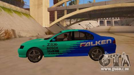 Ford Falcon XR8 2008 Tunable V1.0 für GTA San Andreas linke Ansicht