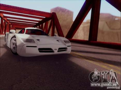 Nissan R390 Road Car v1.0 pour GTA San Andreas