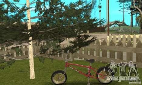 BMX Long 2 pour GTA San Andreas vue de droite