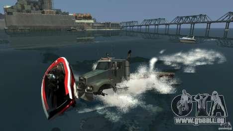 Biff boat für GTA 4 rechte Ansicht
