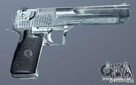Desert Eagle Silber für GTA San Andreas