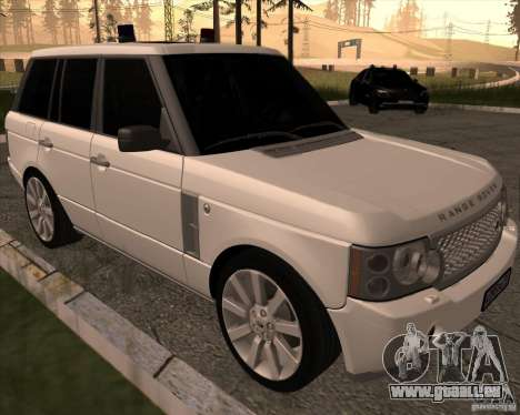 Land Rover Range Rover Supercharged für GTA San Andreas linke Ansicht