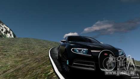 Bugatti Galibier 2009 für GTA 4-Motor