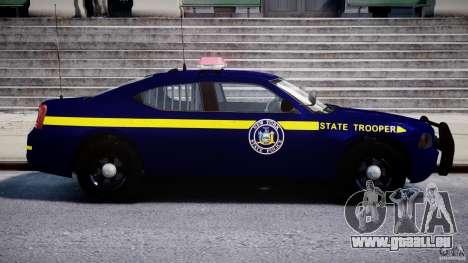 Dodge Charger NY State Trooper CHGR-V2.1M [ELS] pour GTA 4 est un côté