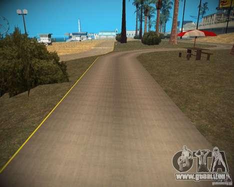 New textures beach of Santa Maria pour GTA San Andreas septième écran