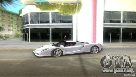 Ferrari Enzo pour une vue GTA Vice City de la gauche