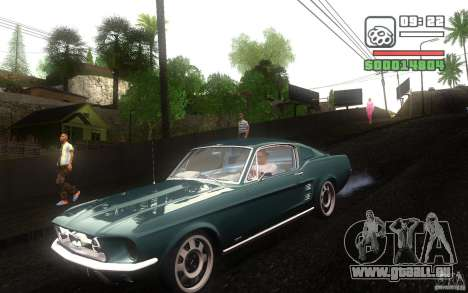 Ford Mustang 1967 American tuning pour GTA San Andreas