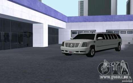 Cadillac Escalade 2008 Limo pour GTA San Andreas vue de droite