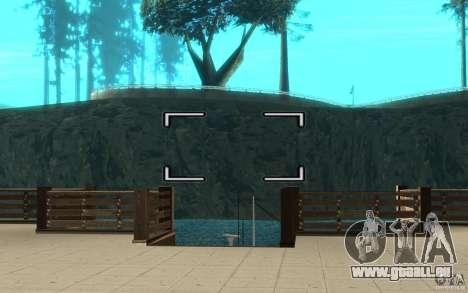 Appareil photo numérique pour GTA San Andreas deuxième écran