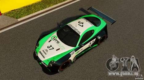 Alfa Romeo 8C Competizione Body Kit 2 pour GTA 4 vue de dessus