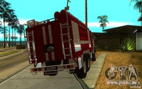 KAMAZ 43118 AC-7, 0-40 pour GTA San Andreas laissé vue