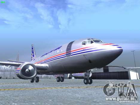 Boeing 737-500 für GTA San Andreas