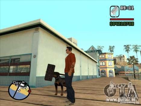 Hammer aus der WarCraft III für GTA San Andreas dritten Screenshot