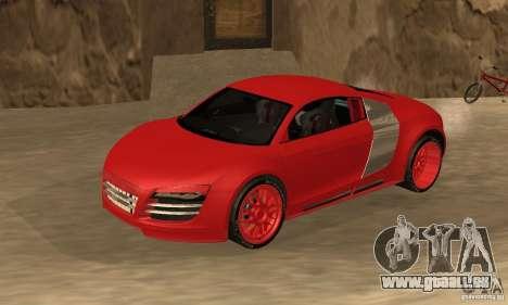 Audi R8 Custom für GTA San Andreas