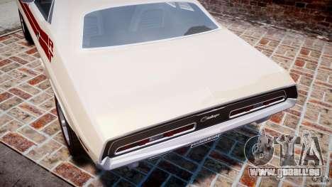 Dodge Challenger 1971 RT für GTA 4-Motor