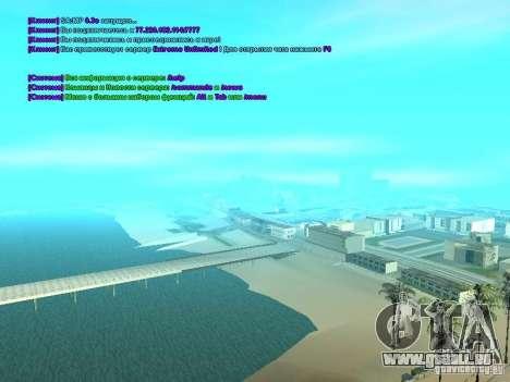 SA-MP 0.3x Client pour GTA San Andreas troisième écran