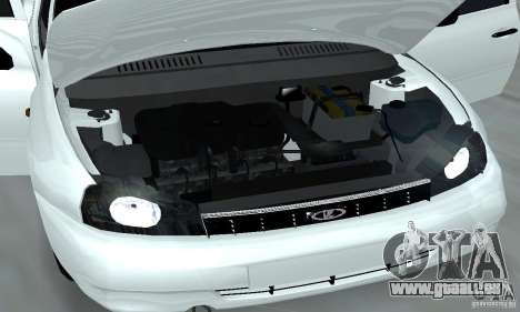 Lada Kalina Hatchback Stock pour GTA San Andreas vue intérieure