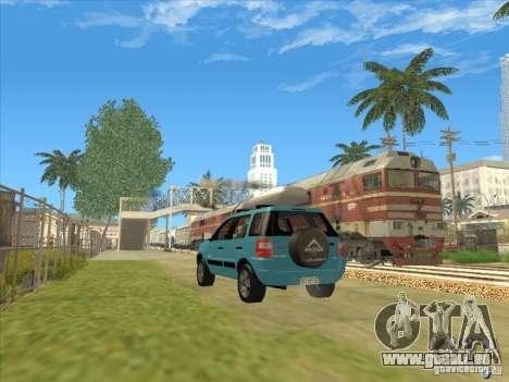 Ford EcoSport 2008 für GTA San Andreas zurück linke Ansicht