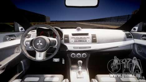 Mitsubishi Lancer Evolution X Tuning pour GTA 4 est un droit