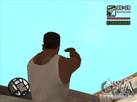 USP 45 pour GTA San Andreas troisième écran