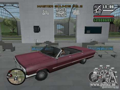 Radiokunst (Symbole Radio in GTA IV) für GTA San Andreas