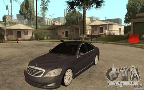 Mercedes-Benz S500 pour GTA San Andreas