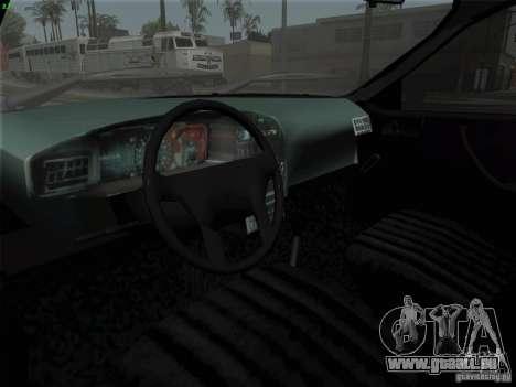 Dacia 1310 L Sport pour GTA San Andreas vue arrière