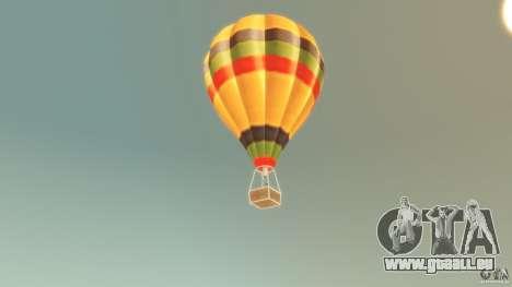 Balloon Tours original für GTA 4 hinten links Ansicht