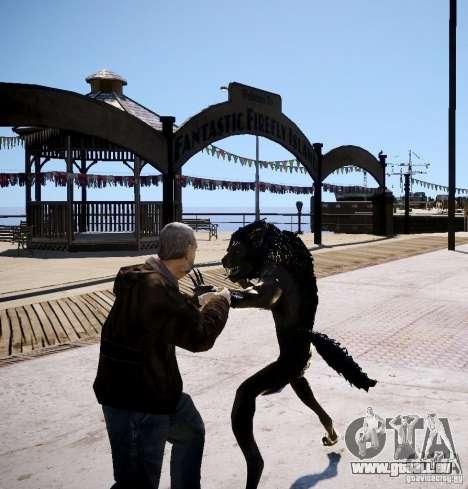 Werewolf from Skyrim pour GTA 4 quatrième écran
