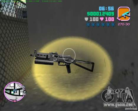 PP-19 Bizon für GTA Vice City