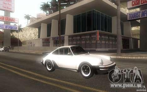 Porsche 911 Turbo 1982 pour GTA San Andreas laissé vue